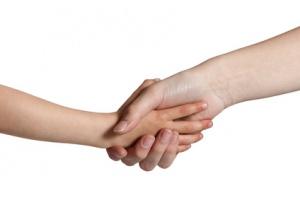 Hand schütteln 2